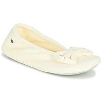 Cipők Női Mamuszok Isotoner 95991 Elefántcsont