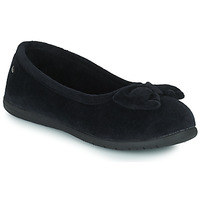 Cipők Női Mamuszok Isotoner 97258 Fekete