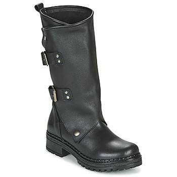 Cipők Női Városi csizmák Musse & Cloud MARVIN Fekete