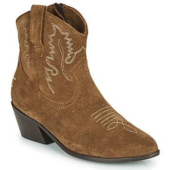Cipők Női Bokacsizmák Musse & Cloud DORISA Barna