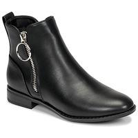 Cipők Női Csizmák Only BOBBY 22 PU ZIP BOOT Fekete