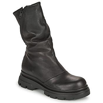Cipők Női Városi csizmák Papucei LUZ Fekete