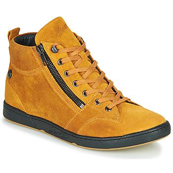 Cipők Női Magas szárú edzőcipők Pataugas JULIA/CR F4F Okker-cserszínű