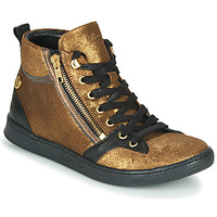 Cipők Női Magas szárú edzőcipők Pataugas JULIA/CR F4F Arany