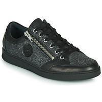 Cipők Női Rövid szárú edzőcipők Pataugas LUCY/MIX F4F Fekete