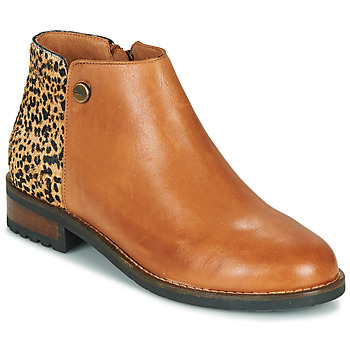Cipők Női Csizmák Pataugas MEGAN/PO F4F Teve