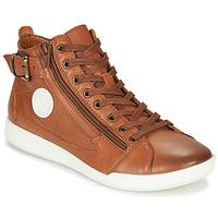 Cipők Női Magas szárú edzőcipők Pataugas PALME/N F4D Konyak