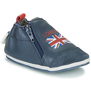 Cipők Gyerek Mamuszok Robeez LONDON FLAG Tengerész