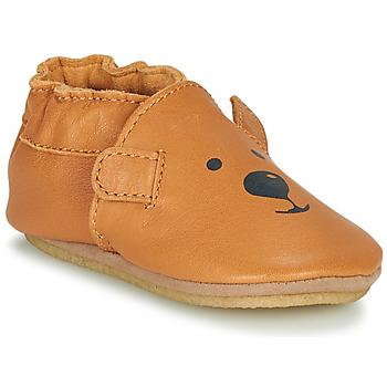 Cipők Gyerek Mamuszok Robeez SWEETY BEAR CRP Teve