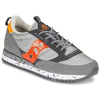 Cipők Rövid szárú edzőcipők Saucony JAZZ (PEAK) Szürke / Piros / Narancssárga