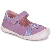 Shoes Lány Balerina cipők / babák Citrouille et Compagnie RETUNE Lila