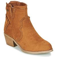 Cipők Női Bokacsizmák Xti 44614 Teve