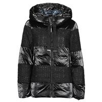 Ruhák Női Steppelt kabátok Desigual ALFA Fekete