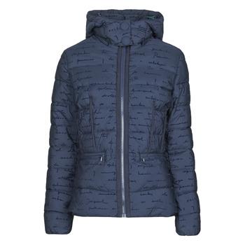 Ruhák Női Steppelt kabátok Desigual NATASHA Kék