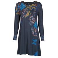 Ruhák Női Rövid ruhák Desigual WASHINTONG Kék