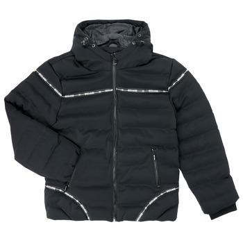 Ruhák Fiú Steppelt kabátok Deeluxe HOLYSON Fekete