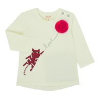 Ruhák Lány Hosszú ujjú pólók Catimini CR10063-11 Rózsaszín