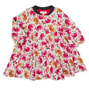 Ruhák Lány Rövid ruhák Catimini CR30093-35 Sokszínű