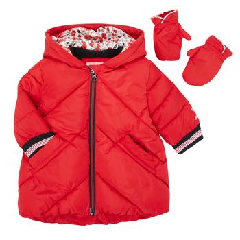Ruhák Lány Steppelt kabátok Catimini CR42013-38 Piros