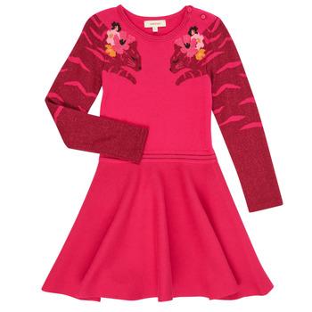 Ruhák Lány Rövid ruhák Catimini CR30085-35 Rózsaszín