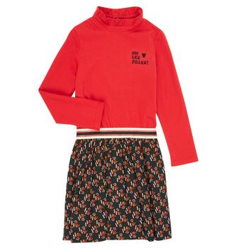 Ruhák Lány Rövid ruhák Catimini CR30035-38-C Sokszínű