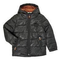 Ruhák Fiú Steppelt kabátok Catimini CR41034-02-C Fekete