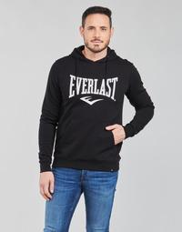 Ruhák Férfi Pulóverek Everlast BASIC-HOODED-TAYLOR Fekete