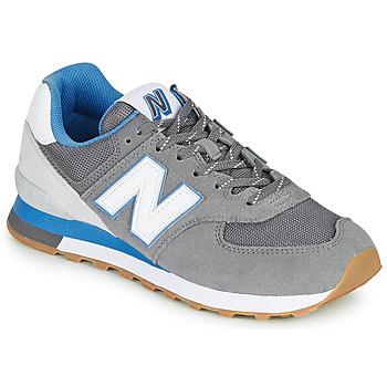 Cipők Férfi Rövid szárú edzőcipők New Balance 574 Szürke / Kék