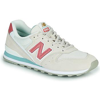 Cipők Női Rövid szárú edzőcipők New Balance 996 Bézs / Rózsaszín