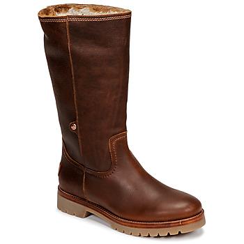 Cipők Női Csizmák Panama Jack BAMBINA Barna