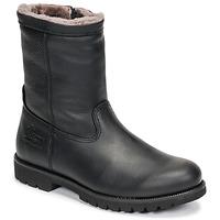 Cipők Férfi Csizmák Panama Jack FEDRO Fekete