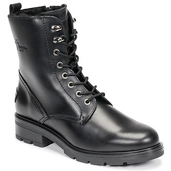Cipők Női Csizmák Panama Jack LILIAN Fekete