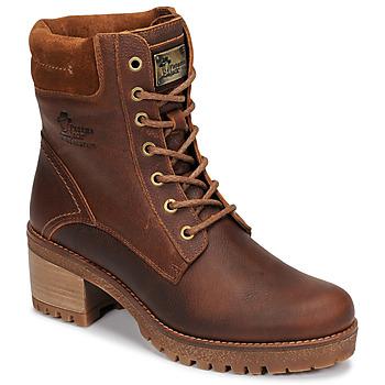 Cipők Női Csizmák Panama Jack PHOEBE Barna