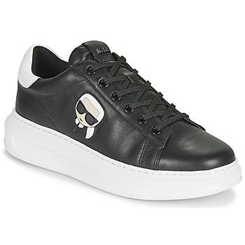 Cipők Férfi Rövid szárú edzőcipők Karl Lagerfeld KAPRI MENS KARL IKONIC 3D LACE Fekete