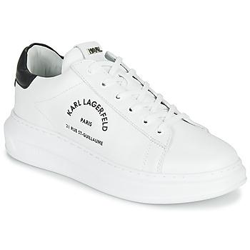 Cipők Férfi Rövid szárú edzőcipők Karl Lagerfeld KAPRI MAISON KARL LACE Fehér