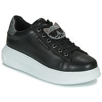 Cipők Női Rövid szárú edzőcipők Karl Lagerfeld KAPRI IKONIC TWIN LO LACE Fekete
