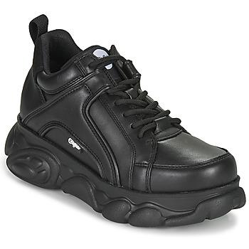 Cipők Női Rövid szárú edzőcipők Buffalo CORIN Fekete