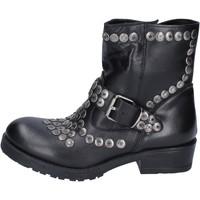 Cipők Női Bokacsizmák Brawn's BM192 Fekete