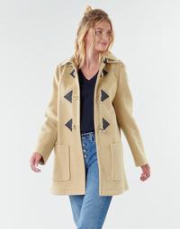 Ruhák Női Kabátok Benetton 2BZP53655 Bézs