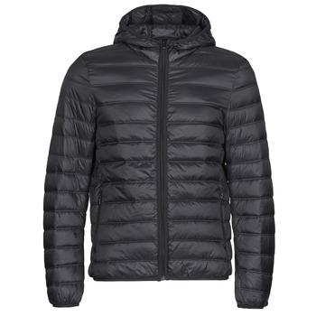 Ruhák Férfi Steppelt kabátok Benetton 2BA253EU8 Fekete