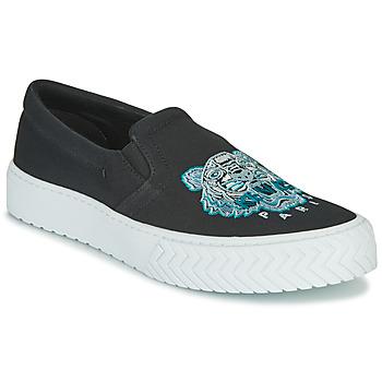 Cipők Női Belebújós cipők Kenzo K SKATE Fekete
