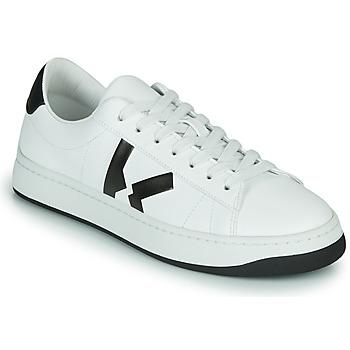 Cipők Női Rövid szárú edzőcipők Kenzo K LOGO Fehér
