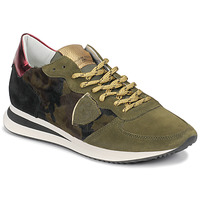 Cipők Női Rövid szárú edzőcipők Philippe Model TROPEZ Álcáz