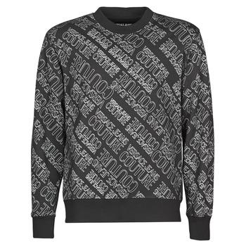 Ruhák Férfi Pulóverek Versace Jeans Couture B7GZB7F5 Fekete
