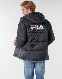 Ruhák Férfi Steppelt kabátok Fila SCOOTER PUFFER JACKET Fekete