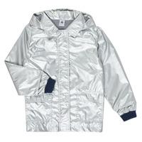Ruhák Lány Parka kabátok Petit Bateau LAETICIA Ezüst