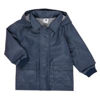 Ruhák Gyerek Parka kabátok Petit Bateau FETE Tengerész