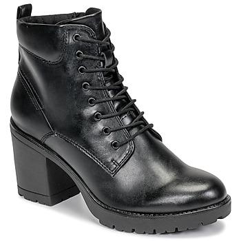 Cipők Női Bokacsizmák Marco Tozzi 2-25204-35-002 Fekete