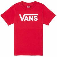Ruhák Fiú Rövid ujjú pólók Vans BY VANS CLASSIC Piros