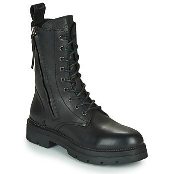 Cipők Női Csizmák Replay PAMELA STANDING Fekete